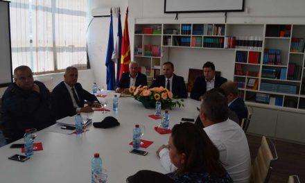 Министерот Спасовски во работна посета на Делчево