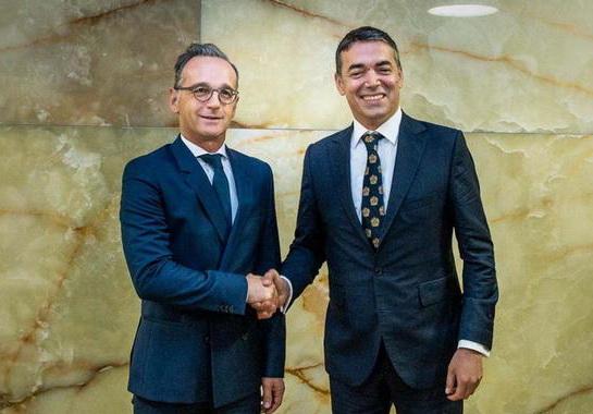 Мас: Нема веќе никакви пречки за Северна Македонија