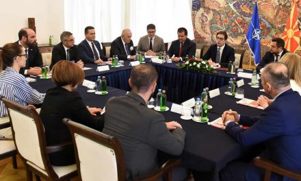 Претседателот Пендаровски прими членови на Стопанската комора Македонија – Турција, МАТТО