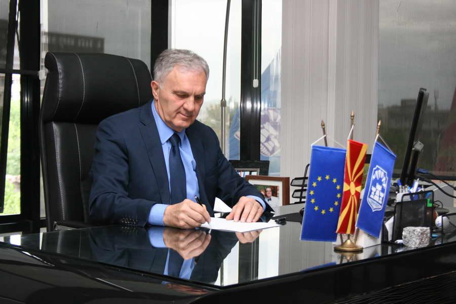 Честитка од градоначалникот на општина Прилеп, Илија Јованоски, по повод Денот на Републиката