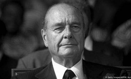 Министерот Едмонд Адеми на комеморативна церемонија за претседателот Жак Ширак