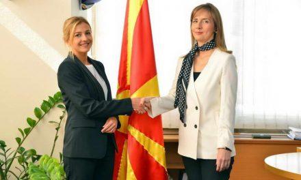 Гувернерката и министерката за финансии на Годишните средби на ММФ и Светската банка во Вашингтон