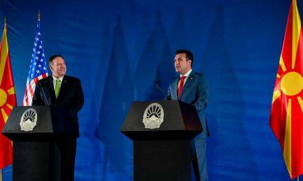 Средба Заев-Помпео: Силна е американската поддршка за полноправно членство во НАТО и за отворање на преговорите на Северна Македонија со ЕУ
