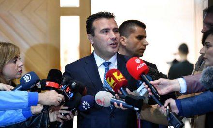 Заев по лидерската средба: Постигнавме консензус за избори на 12 април, верувам дека граѓаните ќе донесат мудра одлука