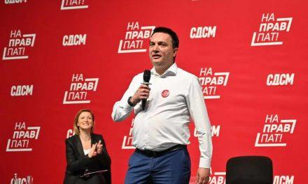 Сугарески: За 2 години СДСМ реализираше 700 километри патна мрежа, 400 километри се во изградба