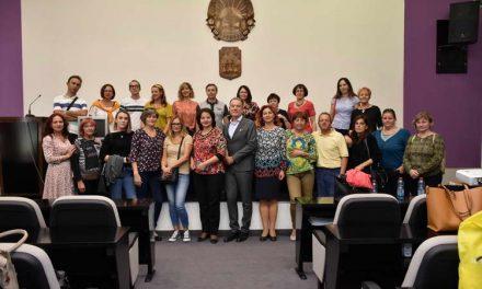 """Градоначалникот Јованоски ги прими професорите од шесте држави, учесници во проектот """"Финансиски и претприемачки вештини за активно граѓанство"""""""