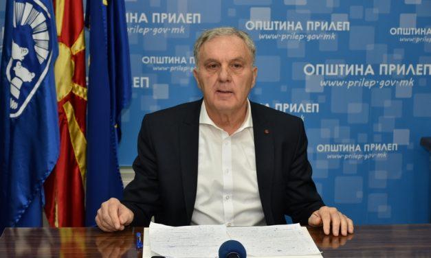 Прилеп: Отчет на градоначалникот Јованоски за реализираните и тековните проекти за 2019 година