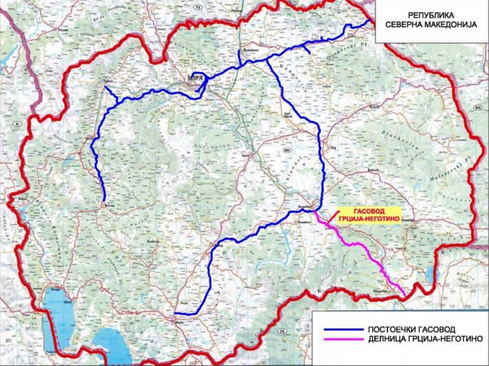 Почнуваат преговорите со Грција за изградба на интерконективниот гасовод