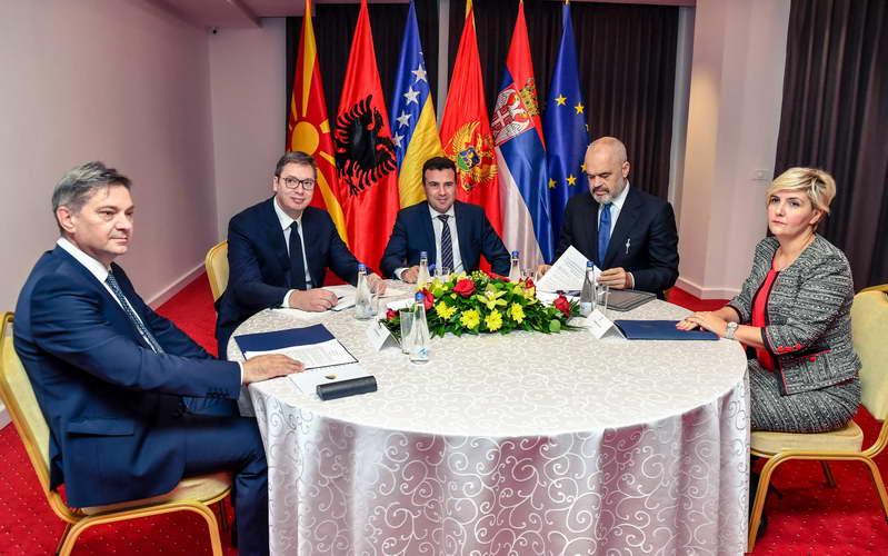 Започна состанокот на лидерите на Западен Балкан за подобрување на регионалната соработка и за остварување на заедничката цел, членство во ЕУ