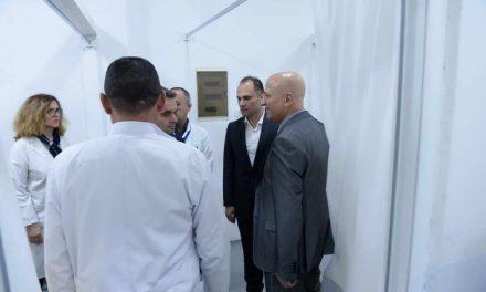 Филипче: Капацитетот со човечки капитал на Клиничката болница во Тетово е зголемен за 15 отсто