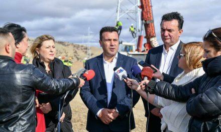 Заев: По 47 години се реконструира далекуводот во Штипскиот регион, капиталните инвестиции во електроенергетската инфраструктура се исклучително значајни за подобрување на инвестиционата клима