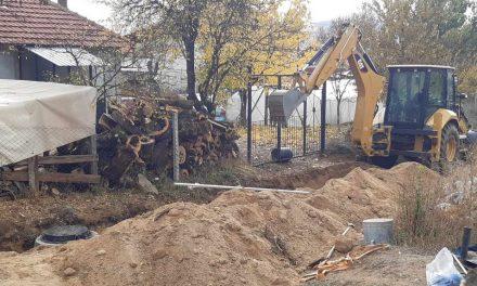 Делчево: Се гради атмосферска и фекална канализација во населба Басарица