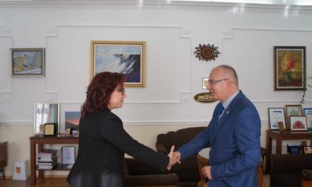 Амбасадорот на Словачка во нашата држава, Хенрик Маркуш во работна посета на Битола