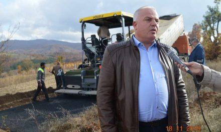 Делчево: Се асфалтира локалниот пат Илиово-Турија