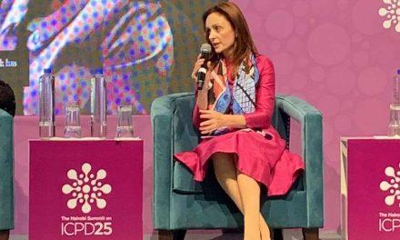 Сопругата на Претседателот, Елизабета Ѓоргиевска се обрати на Најроби Самитот