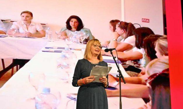 Калеска Ванчева: Ние, социјалдемократките, ја имаме визијата за еднакво учество на жените во сите сфери на политичкиот живот