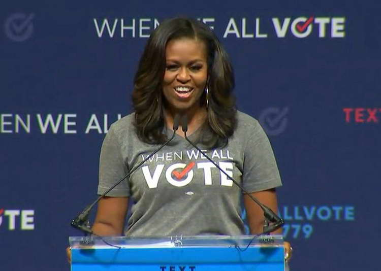 Гласачката екипа на Мишел Обама (видео)