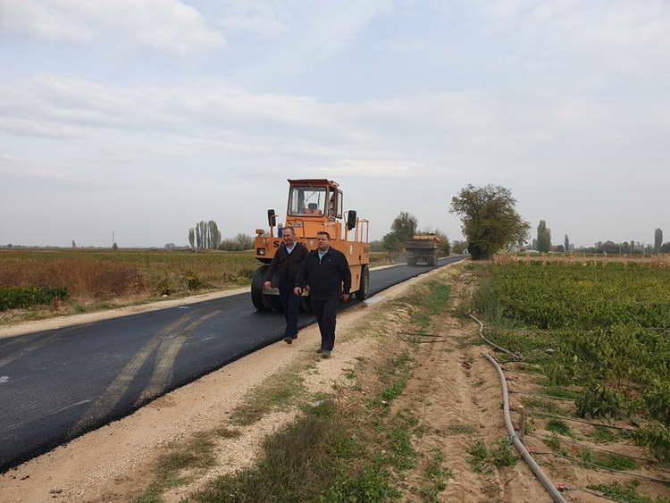 Општина Крушево реализираше два инфраструктурни проекти од меѓуопштински карактер
