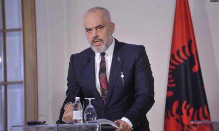 Албанскиот премиер Рама побара помош за закрепнување на земјата