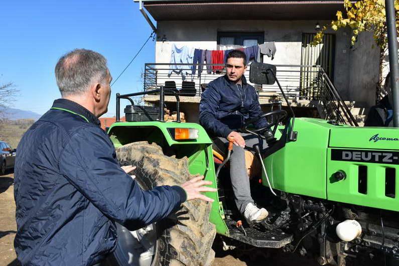 Земјоделците од Прилепскиот регион – активни корисници на владините мерки