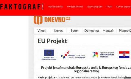 """""""Фактограф"""": Хрватската влада со европски пари поддржува ширење дезинформации"""