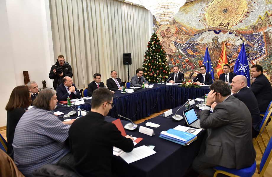 Советот за безбедност расправаше за прашања од интерес на безбедноста на државата и за аерозагадувањето