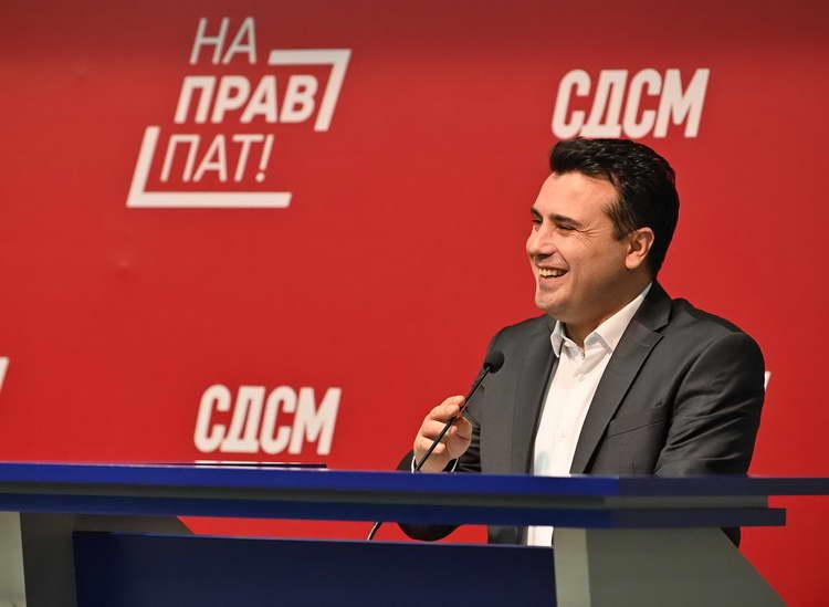 Заев по седницата на ЦО: Ги донесовме одлуките за преодната Влада, СДСМ е фаворит на изборите