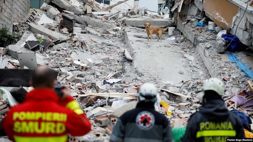 Апсења во Албанија поради жртвите од земјотресот