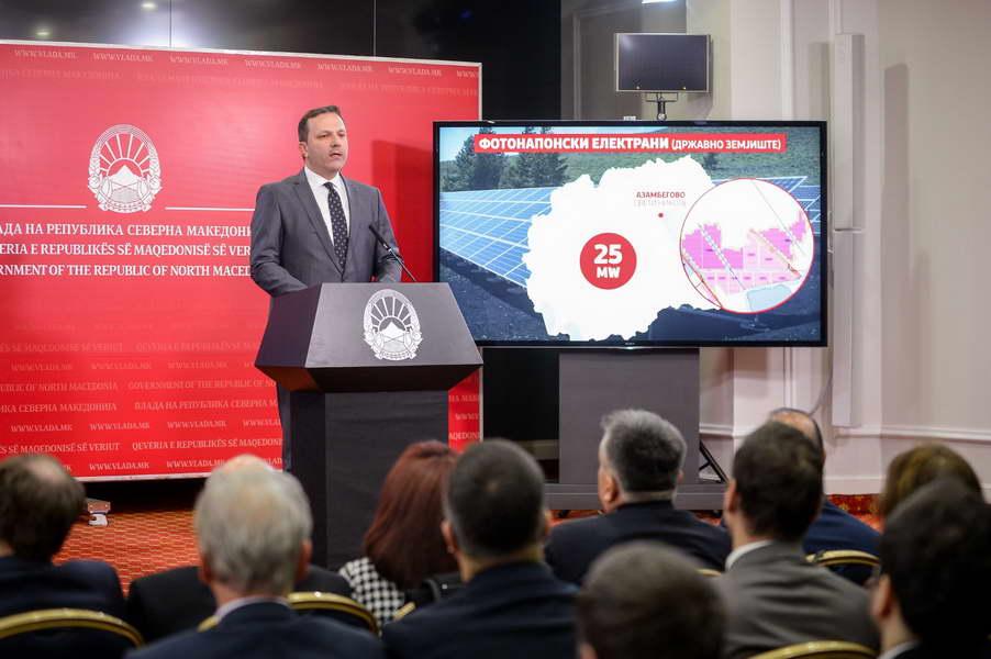 Спасовски: Поттикнувањето на приватни инвестиции за изградба на енергетски објекти со обновливи извори на енергија, главна цел на енергетската политика