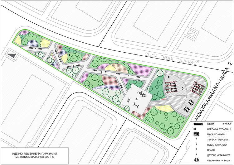 Општина Аеродром: Нов парк во Стар Аеродром