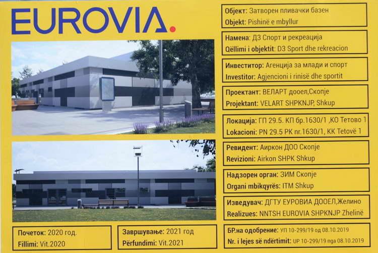 Спасовски: Тетово го добива првиот затворен базен, вложуваме во младите и спортот