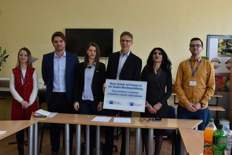 """СОУ """"Ристе Ристески-Ричко"""" и Делегацијата на германското стопанство во нашата држава, потпишаа меморандум за соработка"""