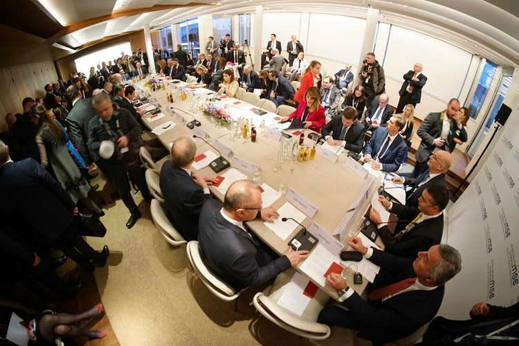"""Претседателот Пендаровски во Минхен говореше на тркалезната маса """"Балкански дијалози"""""""