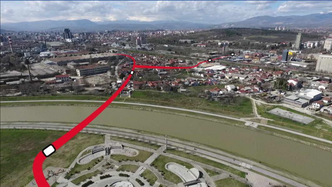 """""""Гранит"""" ќе го гради пробивањето на булеварот АСНОМ и мостот кон Керамидница"""