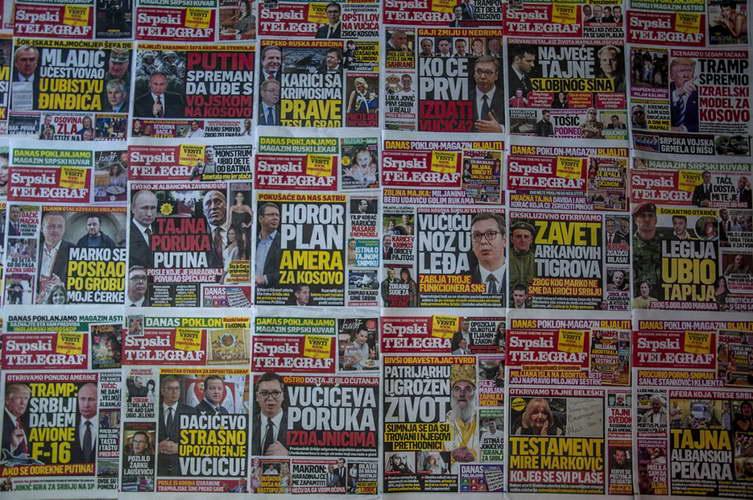 Повеќе од половина милион евра за српски таблоиди што шират лажни вести