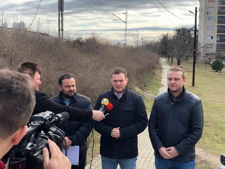 Директорот на Агенцијата за млади и спорт и Градоначалникот на Кисела Вода извршија увид на локацијата каде што треба да се изврши реконструкција на Пешачката Трим Патека