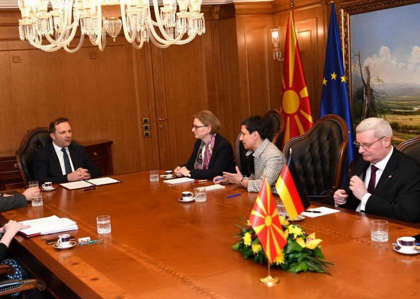Средба Спасовски-Шуц: Силна поддршка од Сојузна Република Германија за европските перспективи