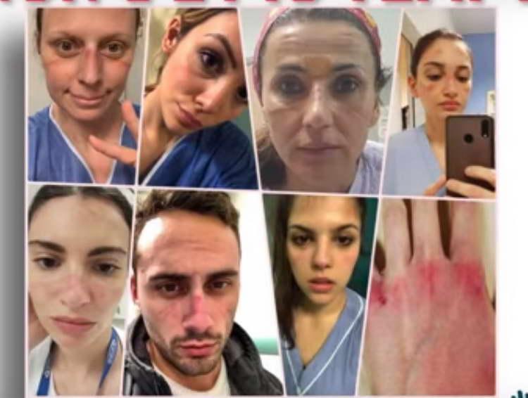 """Апел од италијанските медицински лица: """"Нема повеќе време, потребни ни се повеќе болници"""" (видео)"""