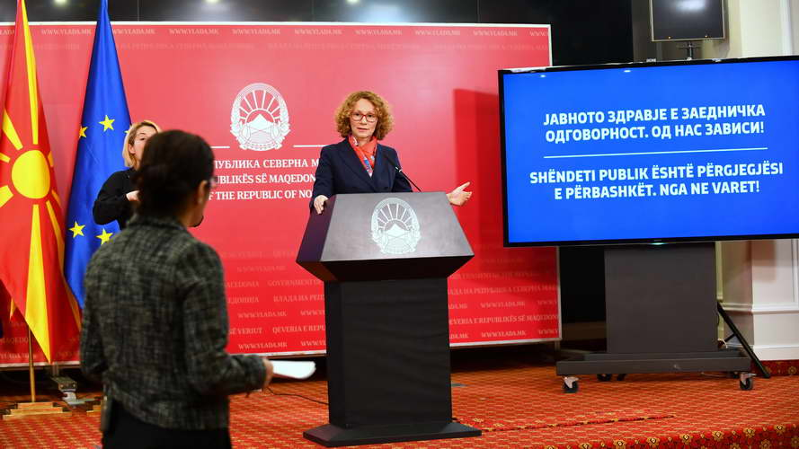 Шекеринска: Армијата се вклучува во поддршка на државните институции за спречување на ширењето на коронавирусот