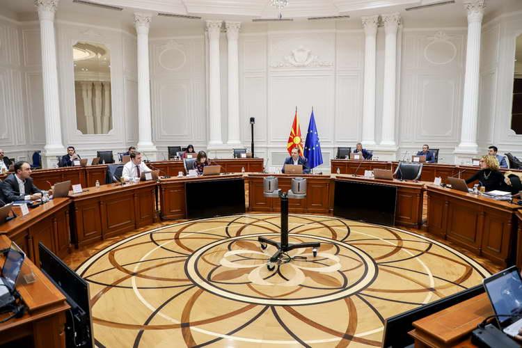 Од 29-тата седница на Владата: Се координира донаторската помош за справување со коронавирусот