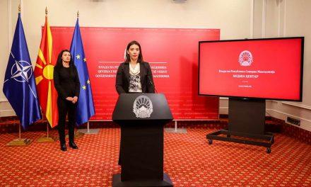Филиповска-Грашкоска: Затворени 5 угостителски објекти во Скопје, непочитувањето на владините мерки строго се санкционира