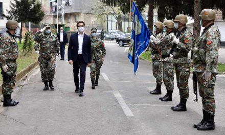 Претседателот Пендаровски во посета на Општина Тетово: Армијата ќе биде ангажирана секаде каде што ќе биде потребно