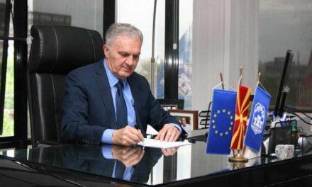 Честитка на градоначалникот Илија Јованоски по повод Меѓународниот ден на жената-8 Март
