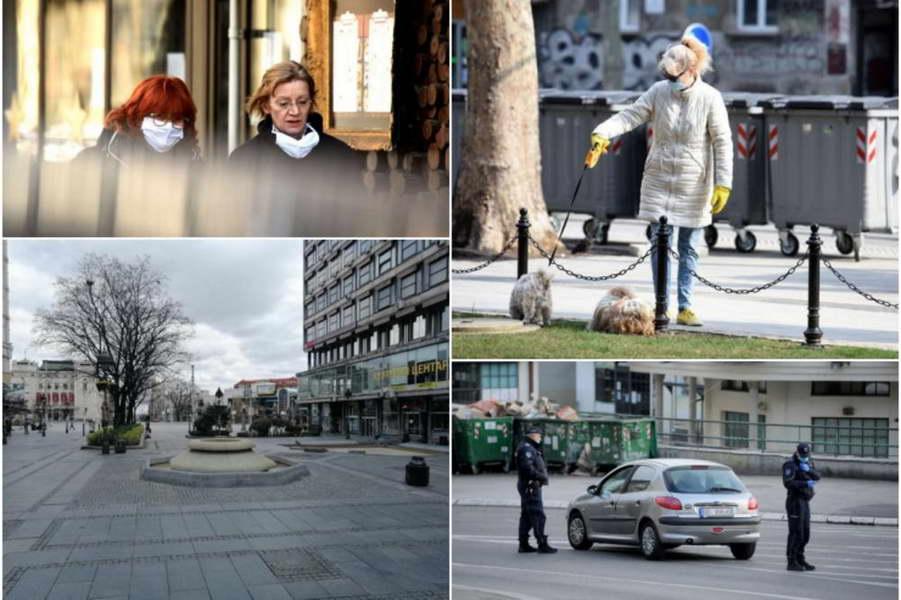 Србија по Турција по бројот на починати од вчера претпладне