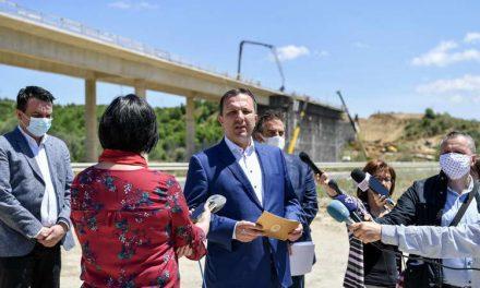 Спасовски: Со брзата изградба на експресниот пат Штип-Радовиш, го градиме забрзано и југоисточниот дел