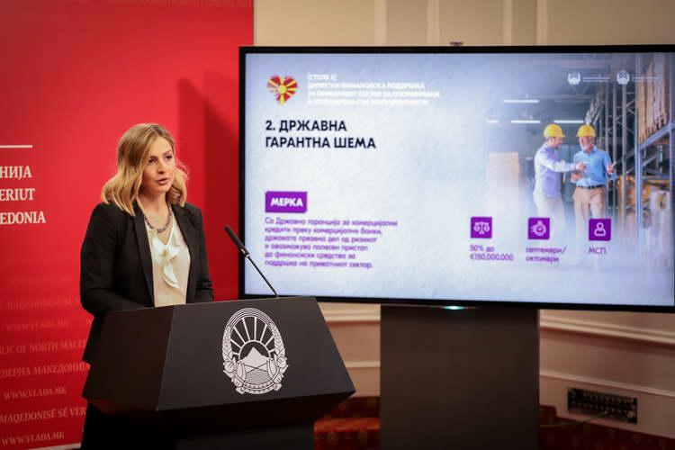 Ангеловска и Бектеши: Третиот пакет економски мерки за модернизација на компаниите и развој на македонската економија