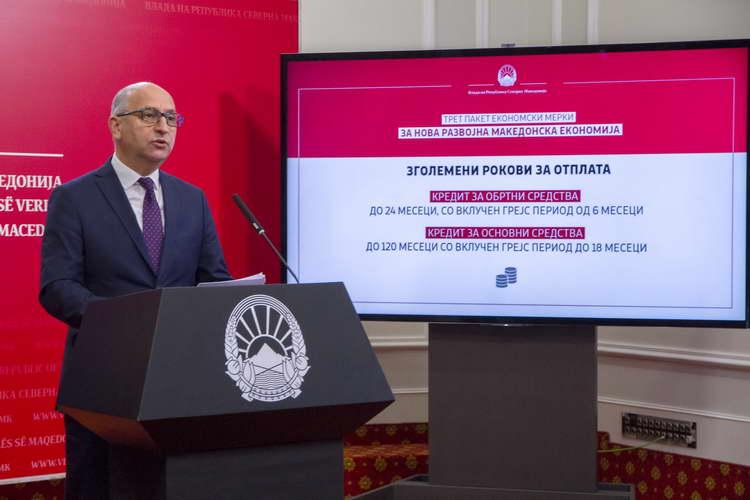 Димковски: Третиот пакет економски мерки нуди поголема поддршка на земјоделците за нови приходи од плодната македонска земја