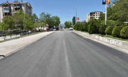 Јованоски: Во тек е изведбата на најголемиот инфраструктурен проект за асфалтирање на улици во населбата Точила