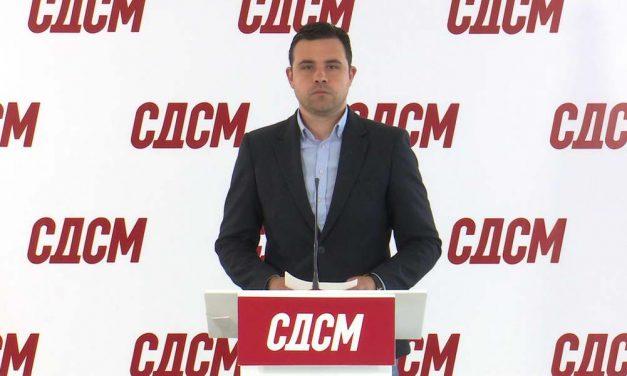 СДСМ: Кочоска по налог на Мицкоски кочи поддршка од 90 милиони евра од Светска банка