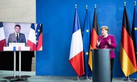 Меркел и Макрон предложија посебен буџетски фонд од 500 милијарди евра за економско заздравување од корона вирусот
